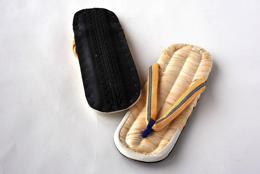 商品ギャラリー: 唐黍草履タイヤ底